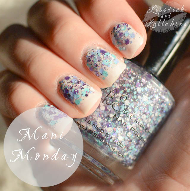 Mani Monday - KBShimmer Happily Ever Aster