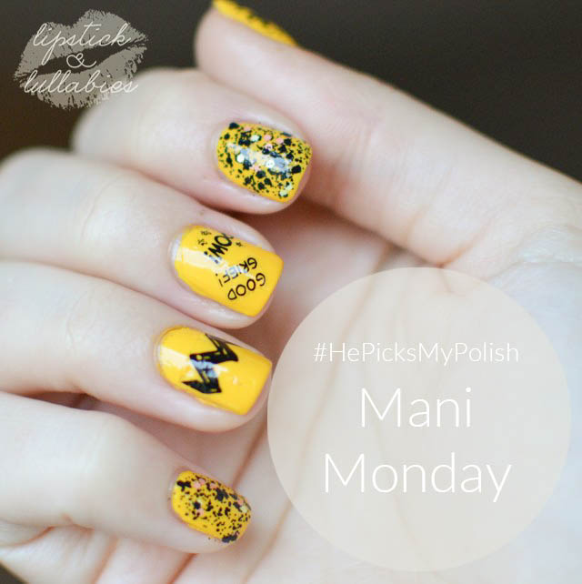 Mani Monday - #HePicksMyPolish Featuring Peanuts by OPI