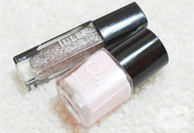 Engagement Ring Manicure - Crabtree & Evelyn Peony and Julep Yumi