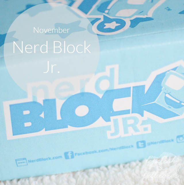 November 2014 Nerd Block Jr.