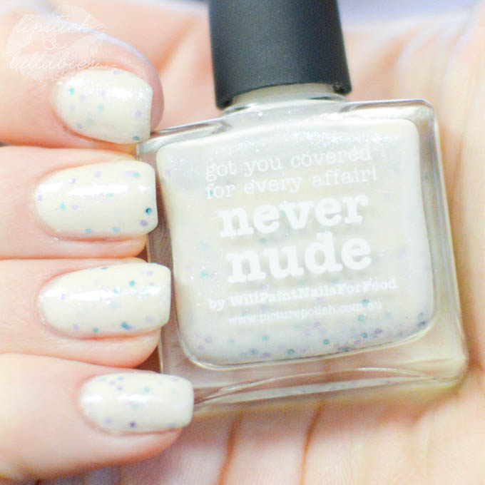 Mani Monday - piCture pOlish Never Nude