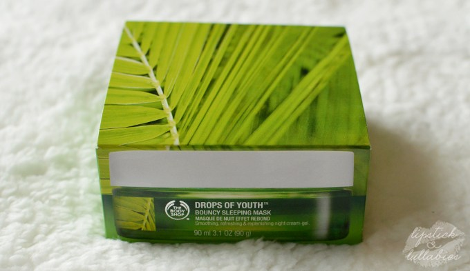 The Body Shop - Drops of Youth Giveaway