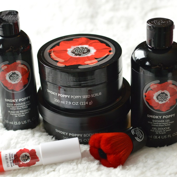 The Body Shop - Smoky Poppy Collection