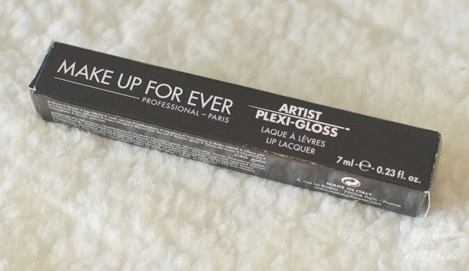 Make Up For Ever Artist Plexi-Gloss 301P Swatches and Review