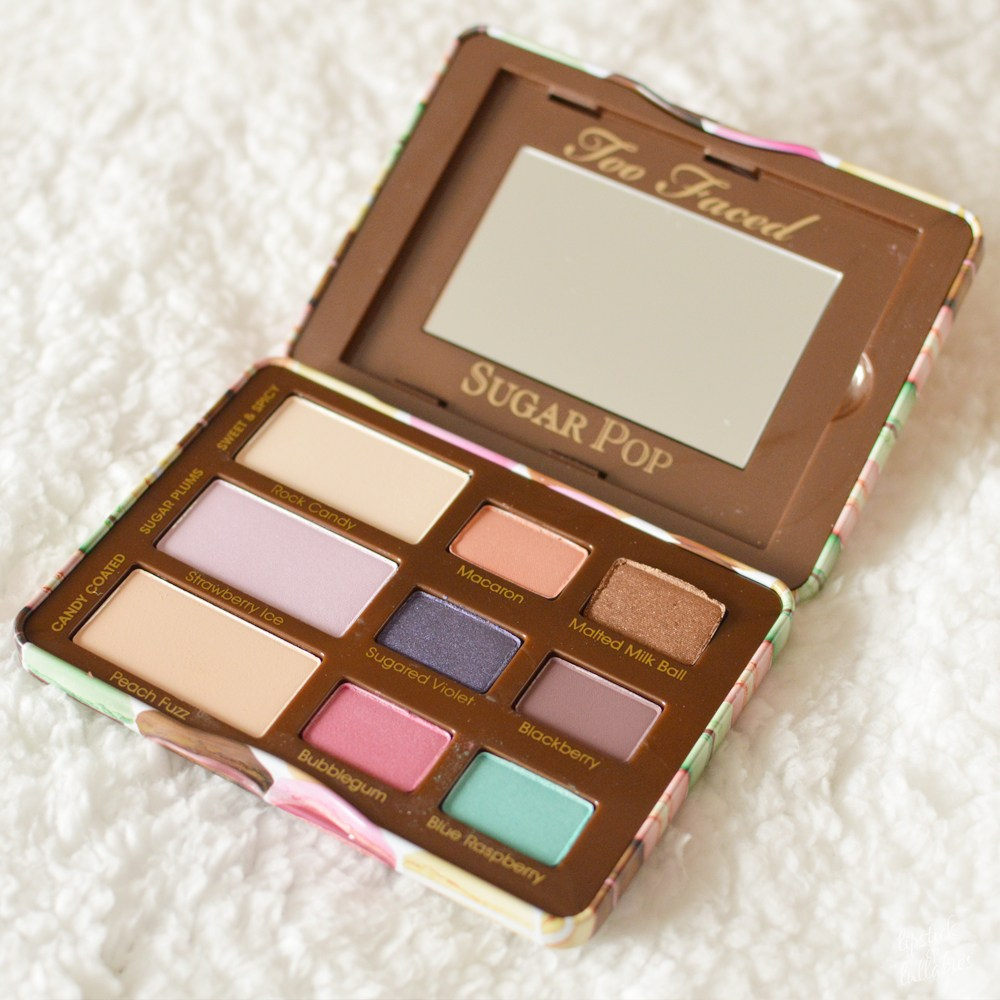 too faced sugar poppalette review