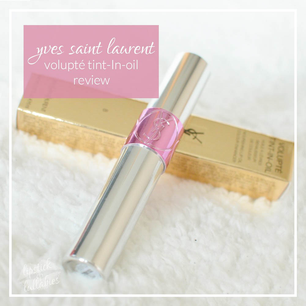 YSL Volupté Tint-In-Oil Pink About Me