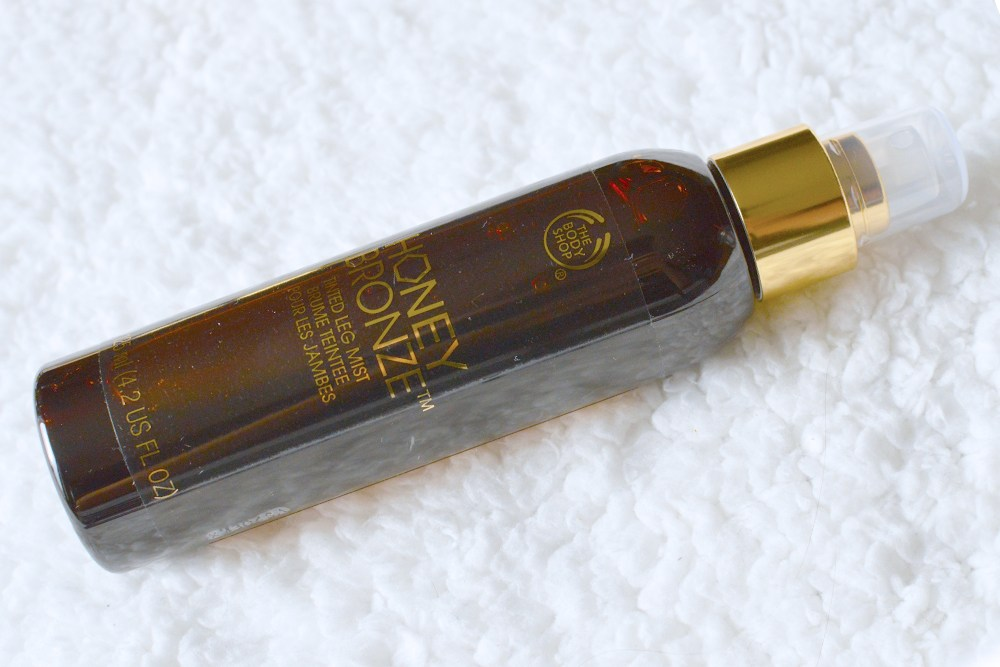 the body shop honey bronze tinted leg mist