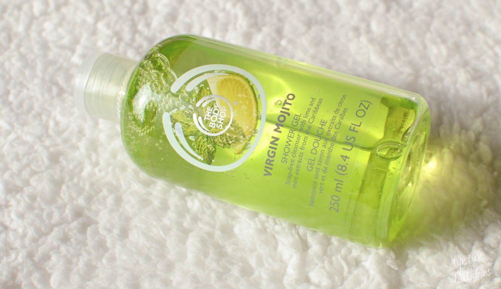 the body shop virgin mojito collection