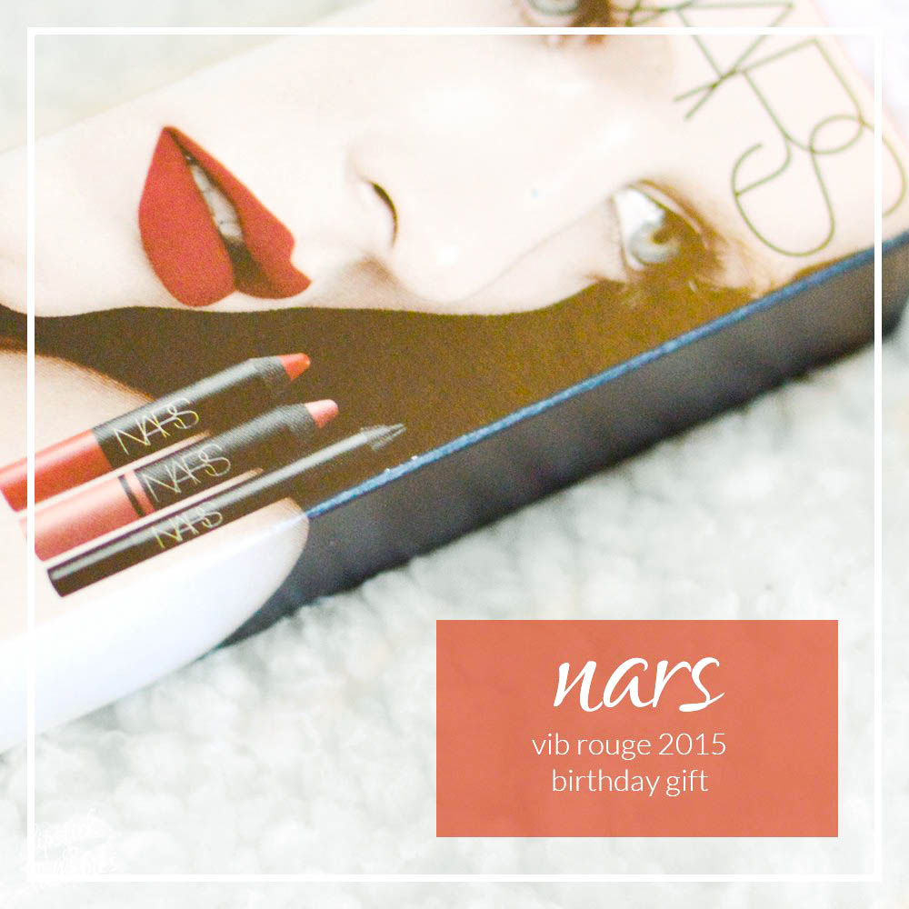 nars 2015 vib rouge birthday gift