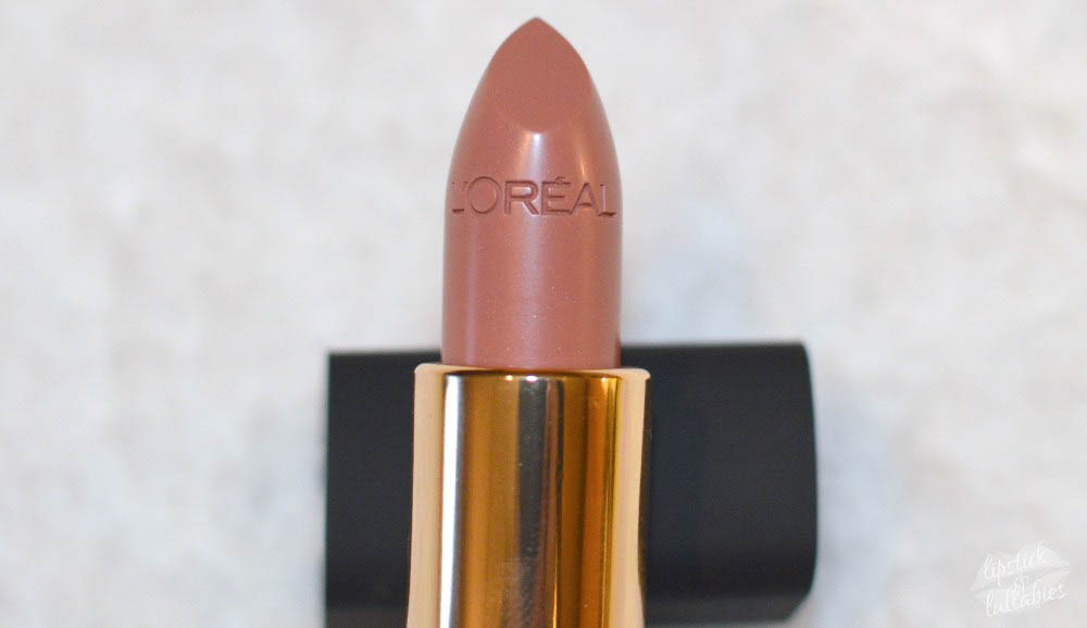 l'oreal colour riche 370 jennifer's nude