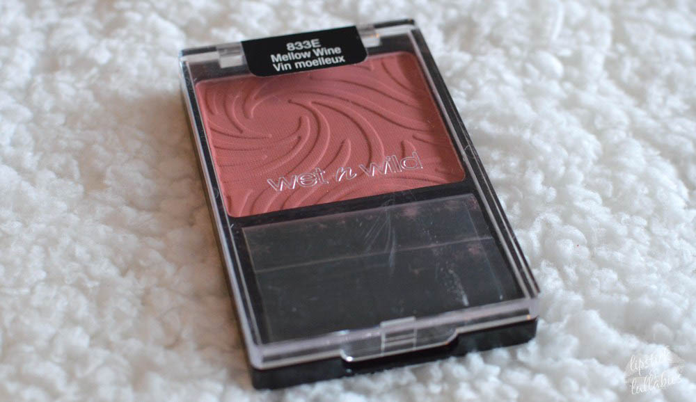 wet n wild - mellow wine blush