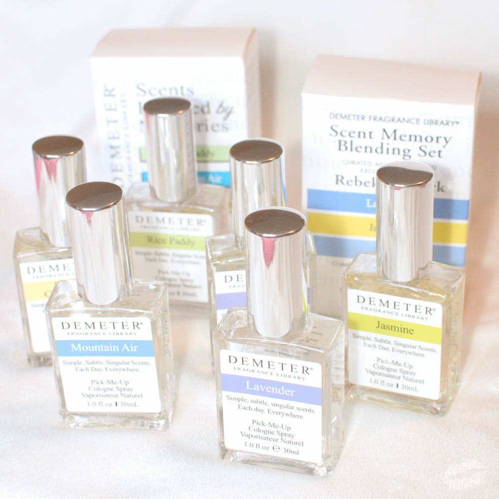 scent inspired memories with demeter