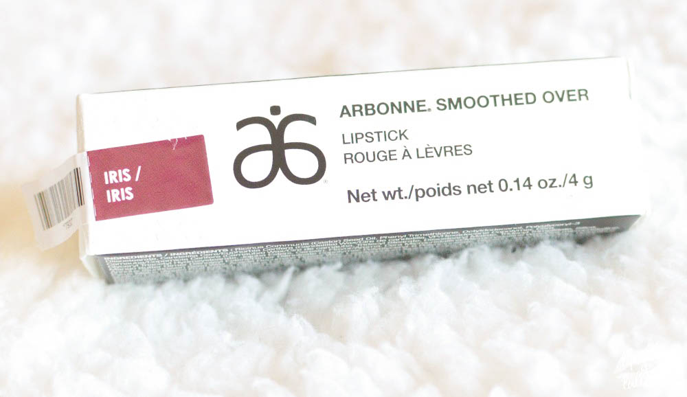 fall lips with arbonne