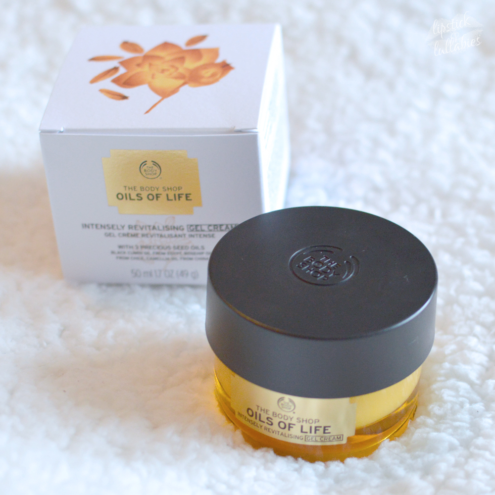the body shop oils of life intensely moisturizing gel cream