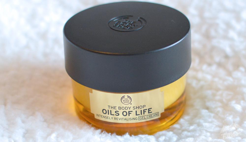 the body shop oils of life intensely moisturizing gel cream