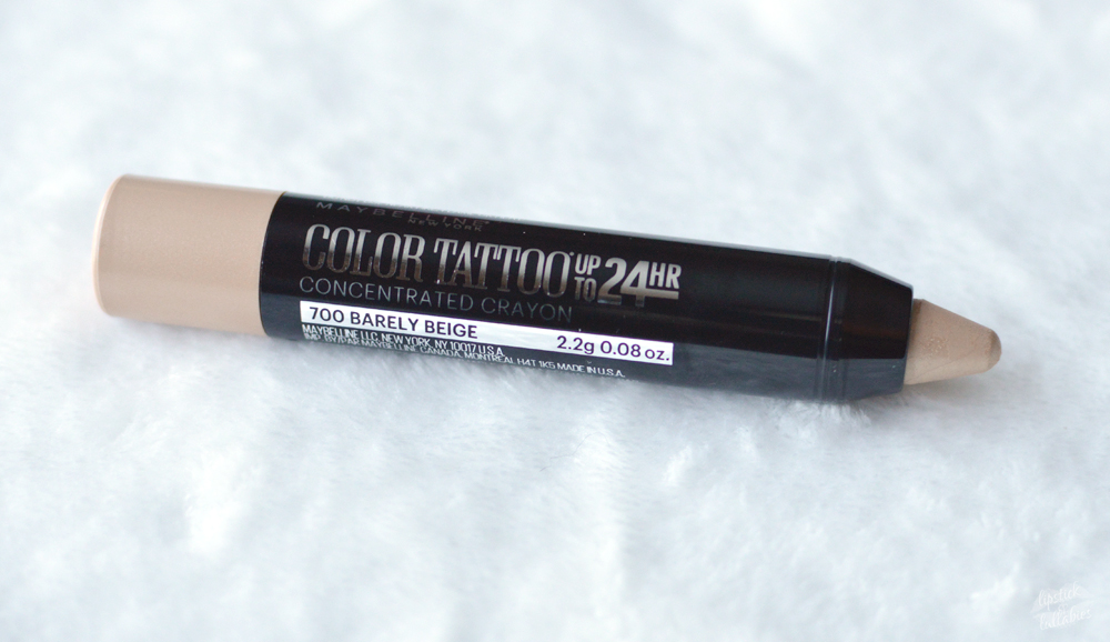 maybelline color tattoo concentrated crayon