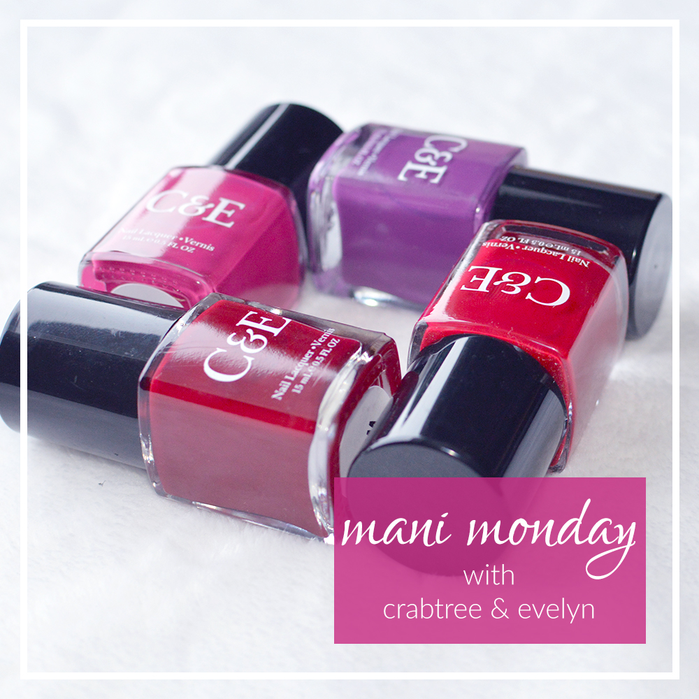 mani monday with crabtree & evelyn