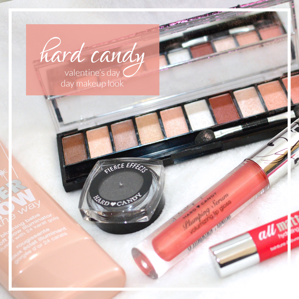 valentine's day makeup with hard candy