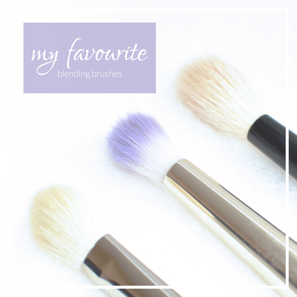 my favourite blending brushes