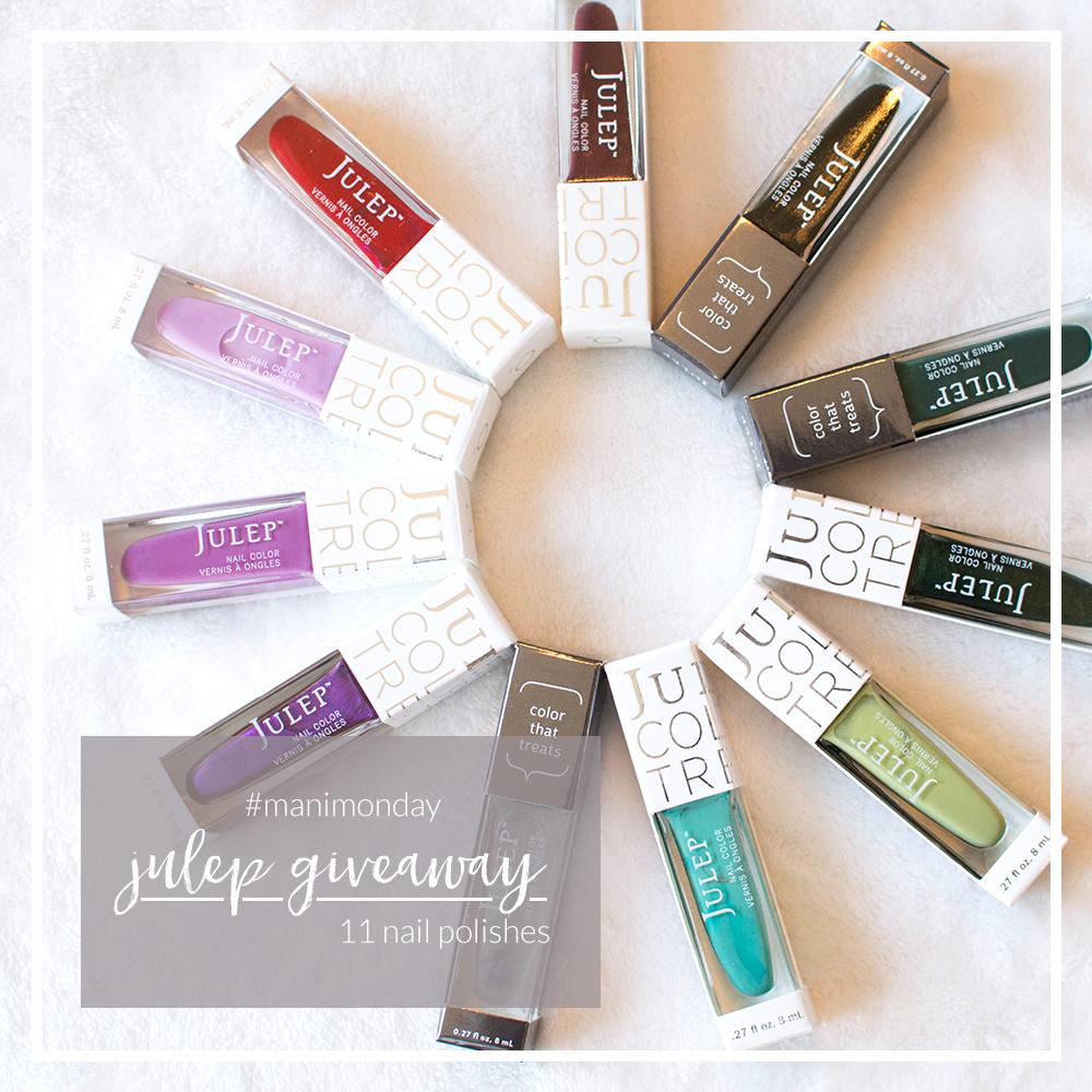 #manimonday julep giveaway