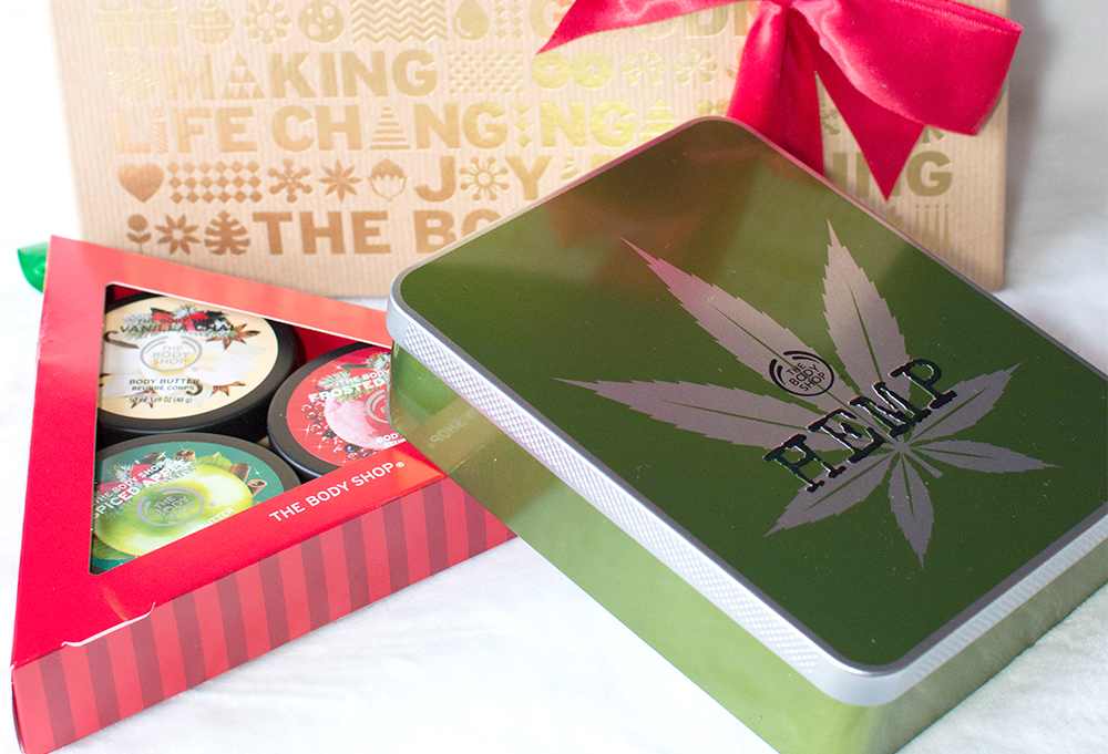 stocking stuffer ideas from the body shop